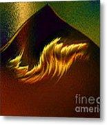 Burning Winds Across The Sahara  Metal Print