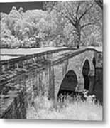 Burnside Bridge 0239 Metal Print by Guy Whiteley