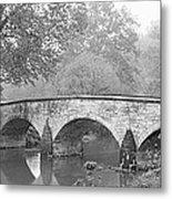Burnside Bridge Antietam National Metal Print