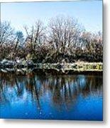Burnsville Pond Metal Print