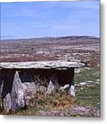 Burren Wedge Tomb Metal Print