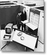 Burroughs 6500 Computer System Metal Print