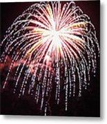 4th Of July Fireworks 9 Metal Print