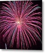 4th Of July Fireworks 24 Metal Print
