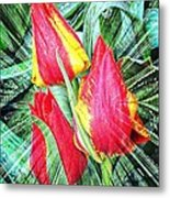 Burst Of Color Metal Print by Cathie Tyler
