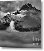 Bursting Thrugh The Clouds Metal Print