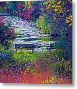 Bursting With Color 2 Metal Print