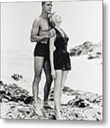 Burt Lancaster In From Here To Eternity  Metal Print