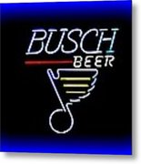 Busch And The Blues Edited Metal Print
