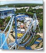 Busch Gardens - 121223 Metal Print by DC Photographer