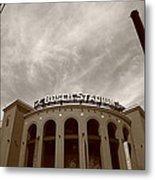 Busch Stadium - St. Louis Cardinals 7 Metal Print