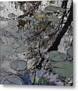 Lilies In The Pond Metal Print
