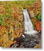 Bushkill Falls Pa Metal Print