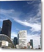 Business Architecture Metal Print