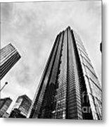 Business Architecture Skyscrapers In London Uk Metal Print