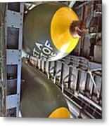 Business Of The Mission Metal Print