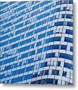 Business Skyscrapers Modern Architecture Metal Print by Michal Bednarek