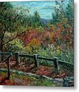 Bussey Hill View Metal Print