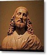 Bust Of Jesus Christ At Mfa Metal Print