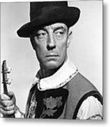 Buster Keaton, Columbia Portrait, Circa Metal Print