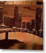 Busy Ness Metal Print by Renee McKnight