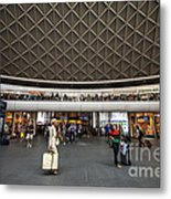 Busy Station Metal Print