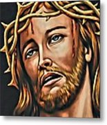 But For Grace Metal Print
