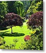 Butchart Gardens Metal Print