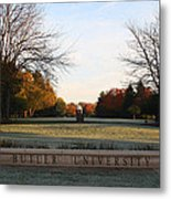 Butler University Mall Metal Print