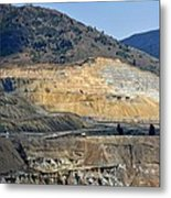 Butte Berkeley Pit Mine Metal Print
