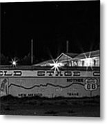 Butterfield Stage Co Steakhouse Metal Print