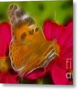 Butterfly-5416-fractal Metal Print
