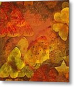 Butterfly Abstract 2 Metal Print