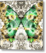 Butterfly Abstraction 6 Metal Print