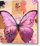 Butterfly Art - Sr51a Metal Print