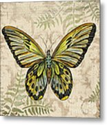 Butterfly Daydreams-a Metal Print