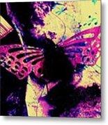 Butterfly Disintegration  Metal Print