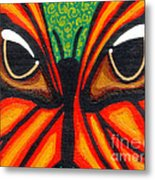 Butterfly Eyes Metal Print