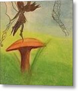 Butterfly Fairy Metal Print