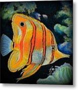 Butterfly Fish Metal Print