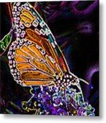 Butterfly Garden 24 - Monarch Metal Print
