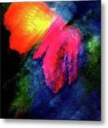 Butterfly Glow Metal Print
