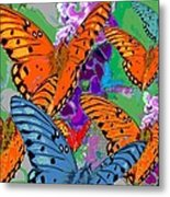 Butterfly Joy Metal Print