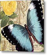 Butterfly Kisses-a Metal Print