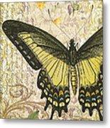 Butterfly Kisses-c Metal Print