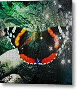 Butterfly Magick Metal Print