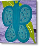Butterfly Metal Print by Melissa Dawn