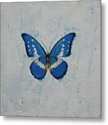 Butterfly Metal Print by Michael Creese