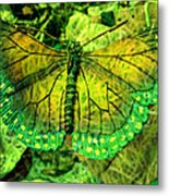Butterfly Mimetism Metal Print by Jo Ann