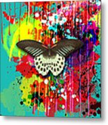 Butterfly Montage Metal Print by Gary Grayson